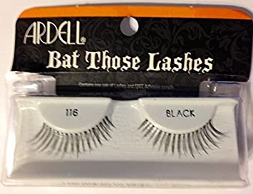 6e274080b5e Amazon.com : Ardell Bat Those Lashes-116 Black, 6 Pack by Ardell : Beauty