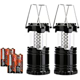 [1 Pack and 2 Pack] Portable Camping Lantern - Ultra Bright 30 LED Camping ...