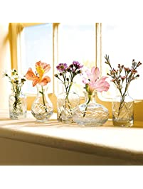 Small Cut Glass Vases ...