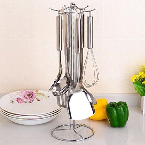 Lilac Tableware (MAZIMARK--Multifunctional Kitchen Stands Utensils Sailing Cutlery Holder Tableware Spoon S)