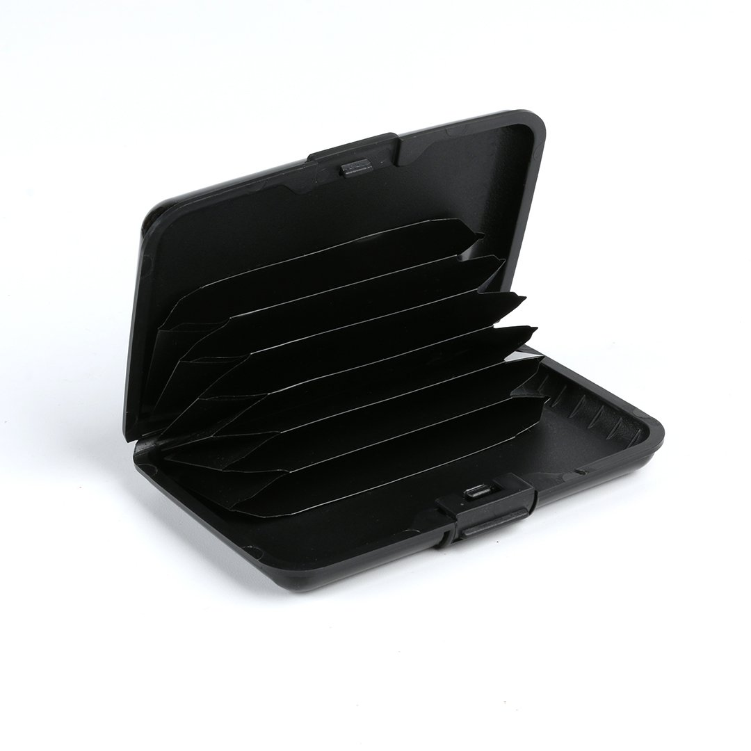 Mala Leather Harper Collection Credit Card Holder RFID Protection 5120/_9 Black