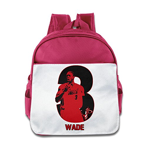 LINNA Cute Miami Wow #3 Basketball Player Teenager School Bagpack Bag For Boys And Girls - Miami Park Bryant
