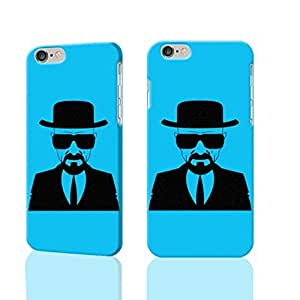 """Breaking Bad Heisenberg 3D Rough iphone 6 -4.7 inches Case Skin, fashion design image custom iPhone 6 - 4.7 inches , durable iphone 6 hard 3D case cover for iphone 6 (4.7""""), Case New Design By Codystore wangjiang maoyi"""