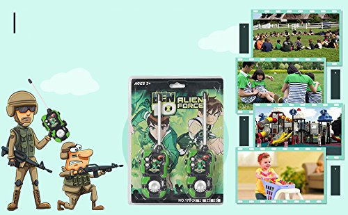 Huang Cheng Toys Alien Force Kids Handheld Walkie-Talkie Pack of 2 Communication Toy by Huang Cheng Toys (Image #6)