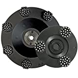 Lackmond Beast Pro Spike Grinding Wheel - 7'' Multi Surface Coating Remover with Clustered Diamond Spikes & Steel Construction - 11350068