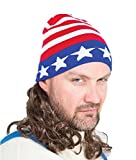 The Iceman Mullet Wig Ski Hat