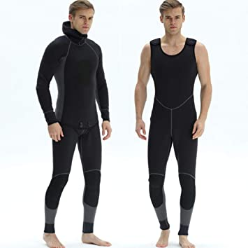 Amazon.com : Z&X 3mm Neoprene Wetsuit - Mens Swimming Surf ...