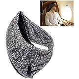 究極の形状トラベルピロー - エルゴノミクス、イノベーション、 飛行機、車、家庭などでの使用にベストな旅行用枕 (グレー)