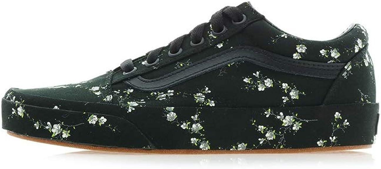 Vans Old Skool (Midnight Floral) Black Womens 6.5 Mens 5