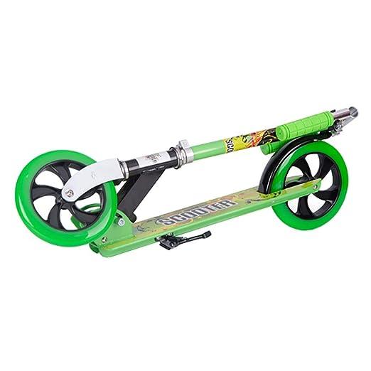 Scooter Patinete Verde no eléctrico para niños y Adultos ...