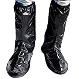 Fashionable Rain Proof Shoes Riding Long Galoshes (L)