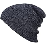 Mens Womens Slouchy Baggy Oversized Beanie Knit Ski Cap Hat For Summer Winter Unisex
