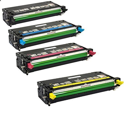 Compatible Black / Cyan / Magenta / Yellow Dell Multi-pack Cartridges for Dell 3110, Dell 3110CN, Dell 3115, Dell 3115CN
