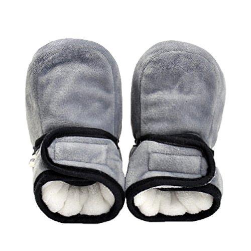 JILIGUALA Baby Fleece Slippers Snow Boots Premium Cozy Sole Warm Pre-walker Toddler Boots