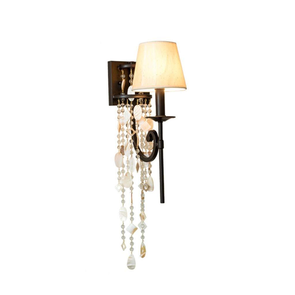 Unbekannt $Wall lamp Light Wandleuchte Stoff Shell Dekoration E14 Schlafzimmer Nachttisch Kinderzimmer Wandleuchte Wanddekoration Lichter (Farbe : B)