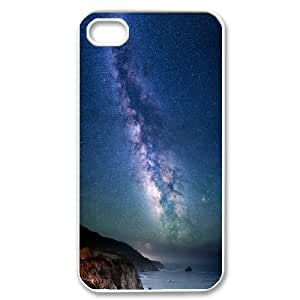 Milky Way over Sea Shore .png IPhone 4/4s Case, Case Kweet {White}