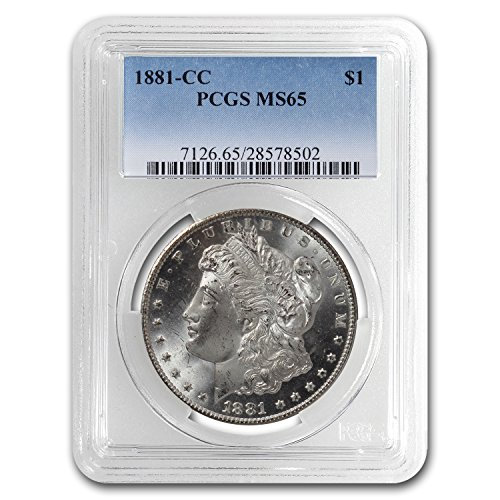 1881 CC Morgan Dollar MS-65 PCGS $1 MS-65 PCGS