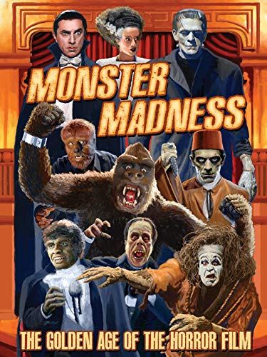 Black And White Halloween Movie Classics (Monster Madness: The Golden Age of)