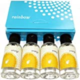 Rainbow Vacuum Cleaner Scents Scented Drops Air Freshener Fragrance Orange 4 Bottles