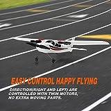 YSTFLY 2.4GHz 2CH DIY EPP RC Plane Outdoor RTF