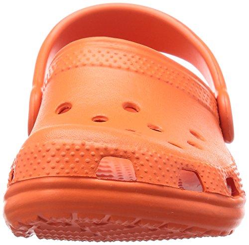 Unisex Classic Tangerine Zoccoli Kids Rosso Crocs Bambini ptqApf