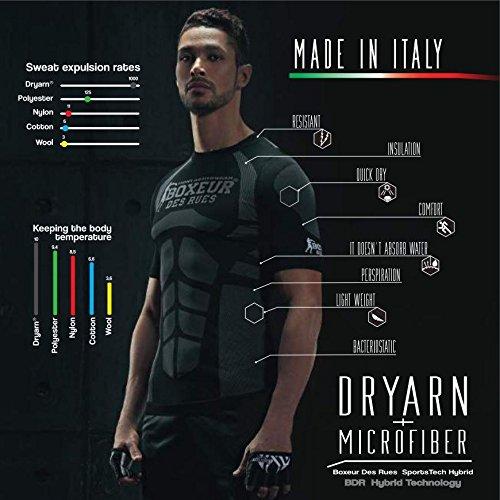 Serie Fight Rues Des Uomo Boxeur Activewear Nero T shirt 4qEtx5x