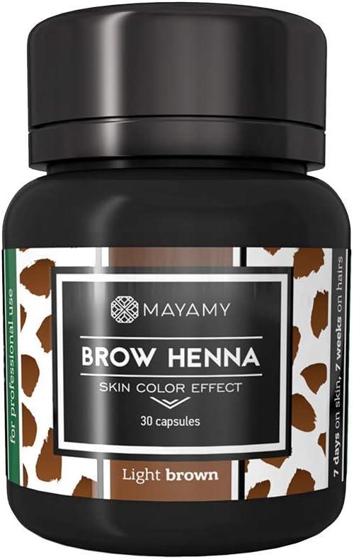 Tinte para cejas – Henna – hasta 6 semanas – Para ...