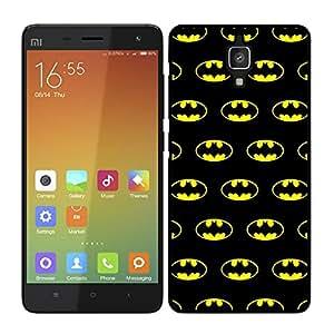 Funda carcasa para Xiaomi MI4 estampado Batman superhéroe borde negro
