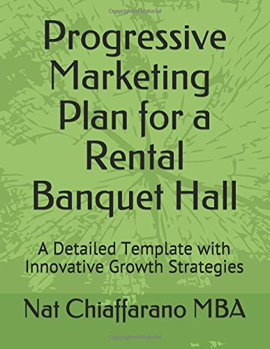 Progressive Marketing Plan for a Rental Banquet Hall: A Detailed Template with Innovative Growth Strategies