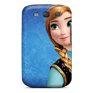 New Style Case Cover UOrTBAQ2345ykfVh Princess Anna Frozen Compatible With Galaxy S3 Protection Case