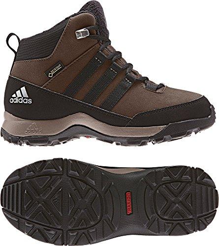 adidas Unisex-Kinder CW Winter Hiker Mid GTX K Trekking-& Wanderstiefel verschiedene Farben (Marron/Negbas/Marsim)