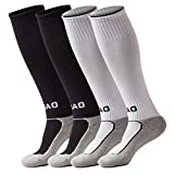 Boys and Girls Sport Soccer Compression Socks Pack for Kids and Youth Gift