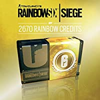 TOM CLANCY'S RAINBOW SIX SIEGE: 2.670 (2.400 + 270 bonus) CREDITI R6 - 2.670 CREDITI | Codice Uplay per PC