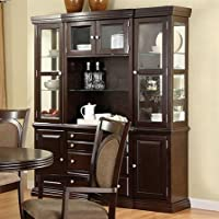 Furniture Of America CM3418HB Evelyn I Buffet Hutch