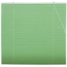 Oriental Furniture Jade Green Pleated Shades - (60 in. x 72 in.)