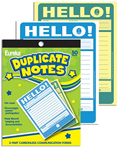 Eureka Hello! Duplicate Notes Large (863206)