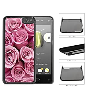 Bunch Of Pink Rose Flowers Hard Plastic Snap On Cell Phone Case Amazon Fire