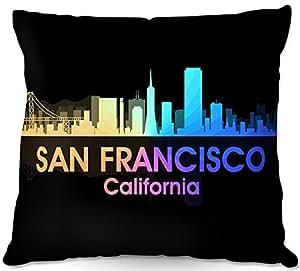 Al aire libre Patio sofá manta almohadas de DiaNoche Designs barbacoa al aire libre ideas por Angelina Vick ciudad v San Francisco California