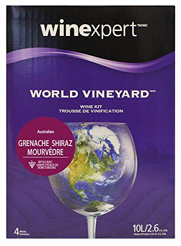Winexpert World Vineyard Australian Grenache/Shiraz/Mourvedre with Grape Skins Ingredient KIT