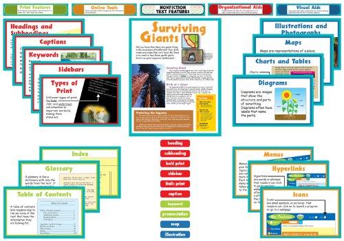 Nonfiction Text Features Bulletin Board Set