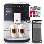 Melitta-Caffeo-Barista-TS-Smart-F850-101-Kaffeevollautomat-mit-Milchbehlter-Smartphone-Steuerung-mit-Connect-App-One-Touch-Funktion-Pro-Aqua-Filtertechnologie-Silber