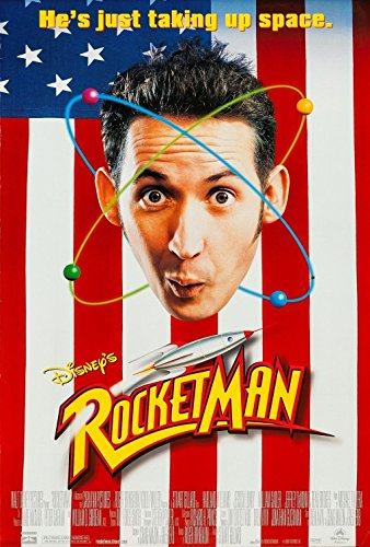 ROCKETMAN (1997) Character Movie Poster 27x40 - Dbl-Sided - Harland Williams - Jessica Lundy - William Sadler - Beau Bridges