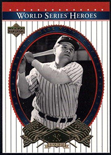 World Upper Deck Series (Baseball MLB 2002 Upper Deck World Series Heroes #80 Babe Ruth NM-MT Yankees)