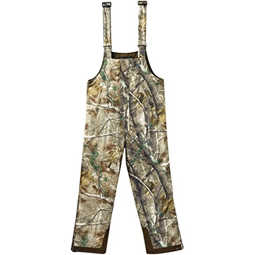 Rocky Junior Prohunter Waterproof Insulated Bibs, Realtree Extra Camouflage, Large
