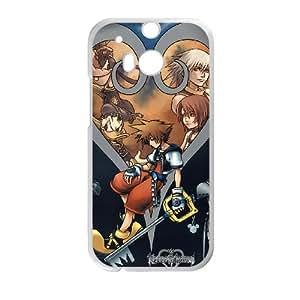 Caso HTC uno M8 cubiertas blancas Kingdom Hearts 3D caja del teléfono G6S5TR personalizada