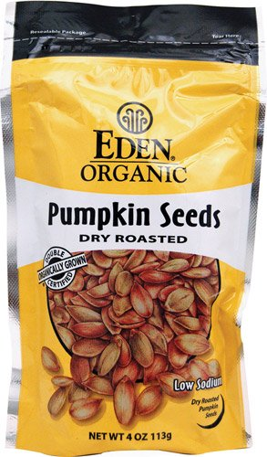 Eden Foods Organic Pumpkin Seeds Dry Roasted Unflavored -- 4 oz - 2 - Eden Pumpkin Roasted Seeds