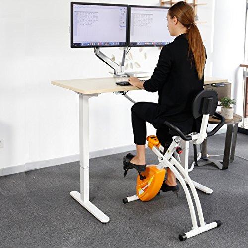 Flexispot Electric 48 Quot Height Adjustable Standing Desk Mdf