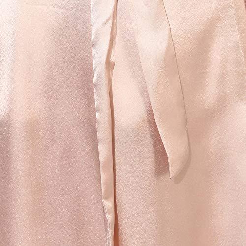 Made To Style - Kimono de Encaje, Color Piel Rosa Suave Desnudo 44 ...
