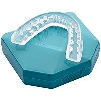 2 x Férula Dental Placa de Descarga Nocturna Protector Bucal para dormir, contro Bruxismo Rechinar los dientes y los…