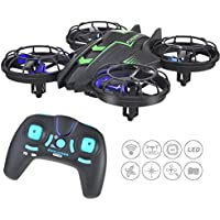 RC Quadcopter Drone With 0.3MP HD Camera,4 Channel 2.4GHz 6-Gyro Real Time Live Video RC Helicopter Mini Drone Green